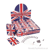 Union Jack Plastic Coated Standard Playing Cards
